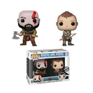 Kratos & Atreus – 2 pack