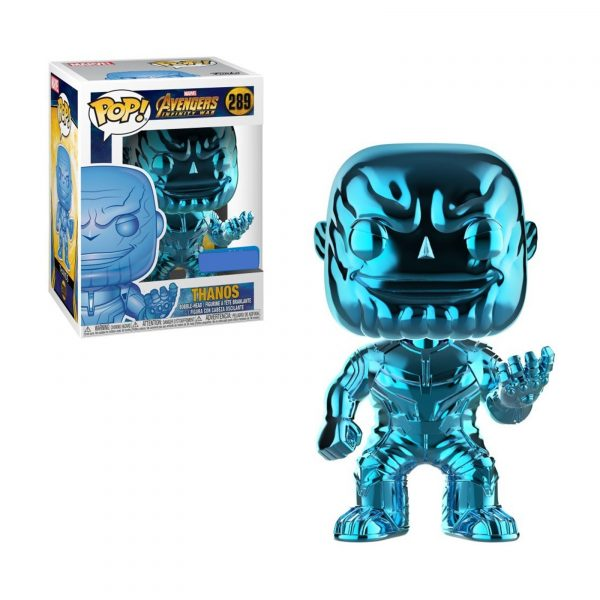 Figurine Funko Pop Thanos Chrome Bleu – 289