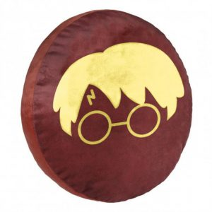 Harry potter coussin Rond « Lunettes »