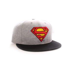 Casquette vintage «SUPERMAN» gris