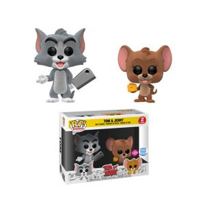 Tom & Jerry (Flocked) – 2 Pack