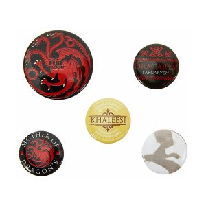 5 Badges « TARGARYEN »