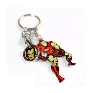 Porte clés + Jeton «IRON MAN»