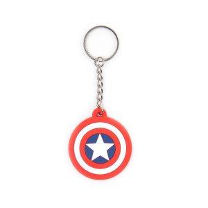 Porte clés «BOUCLIER CAPTAIN AMERICA»