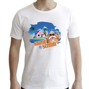 T-Shirt KAME SENNIN blanc