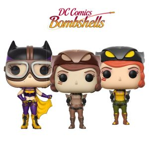 Bundle 3 pop « BOMBSHELLS «