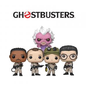 Bundle 5 pop «GHOSTBUSTERS»