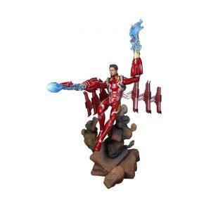 IRON MAN unmasked Infinity War MK50