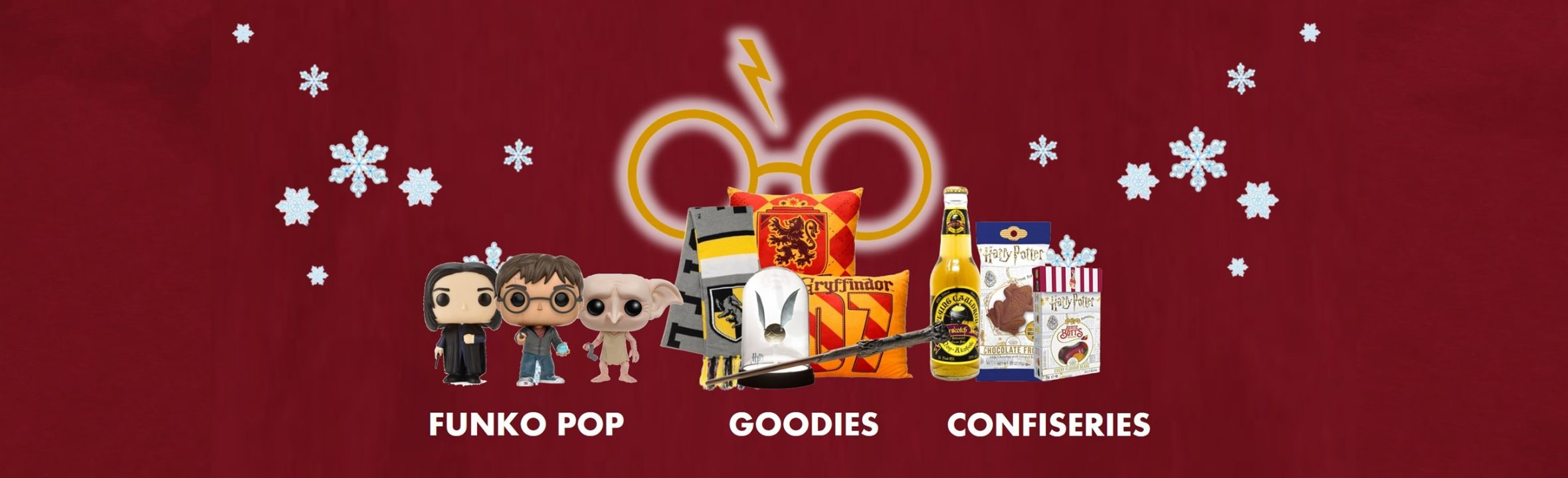 Boutique specialiste Harry Potter goodies figurines et funko pop