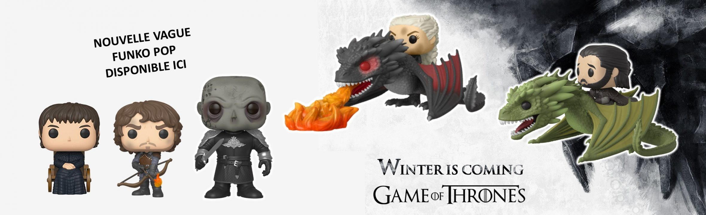 Funko pop Game of thrones saison 8