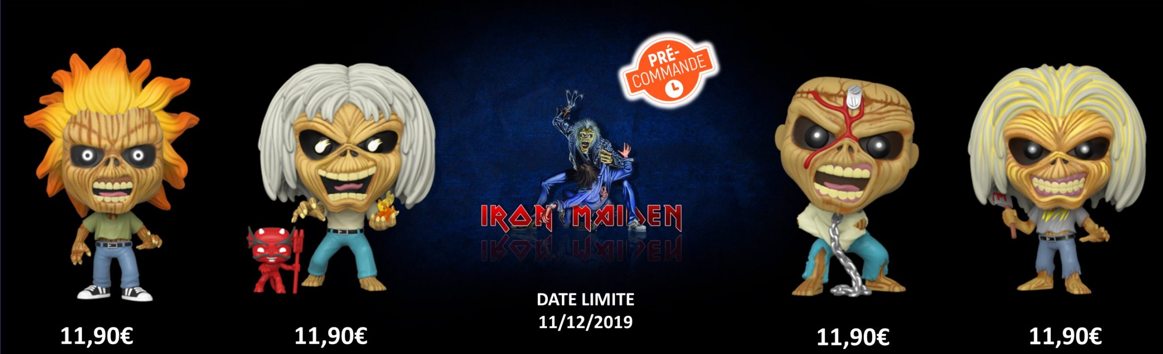 funko pop Iron Maiden précommande