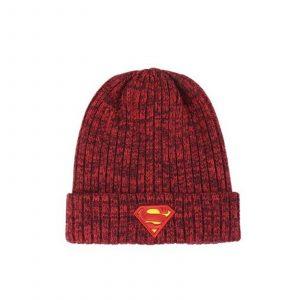 Bonnet tricot «SUPERMAN»