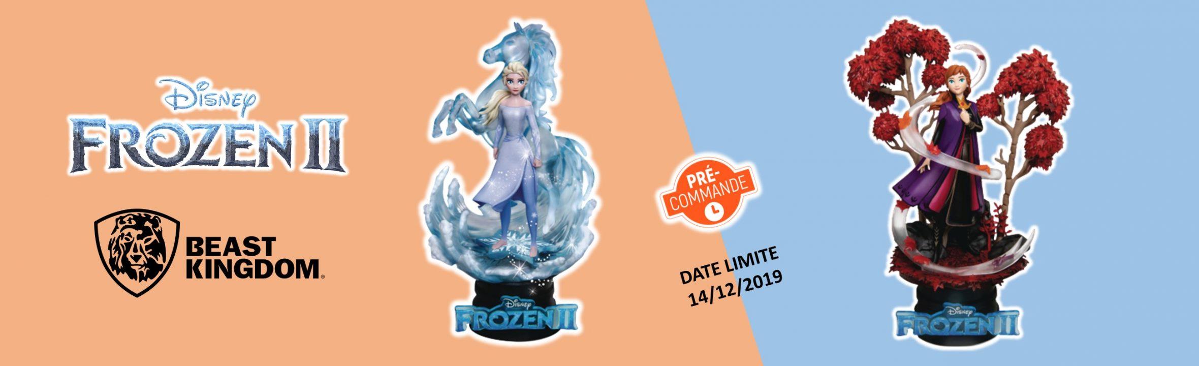 preco diorama La reine des neiges 2 disney