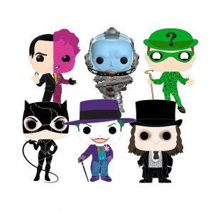 Bundle 6 Pop «BATMAN SAGA»