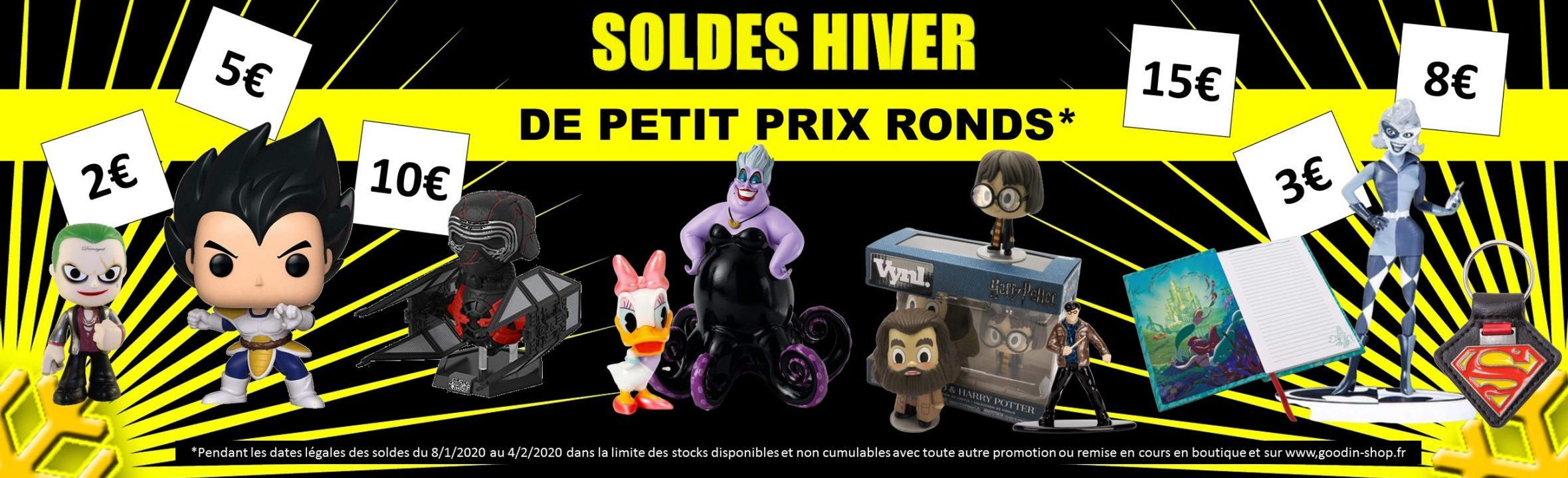 Soldes hiver 2020 Funko pop goodies et figurines
