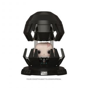 Darth Vader in Meditation chamber (Dark Vador)