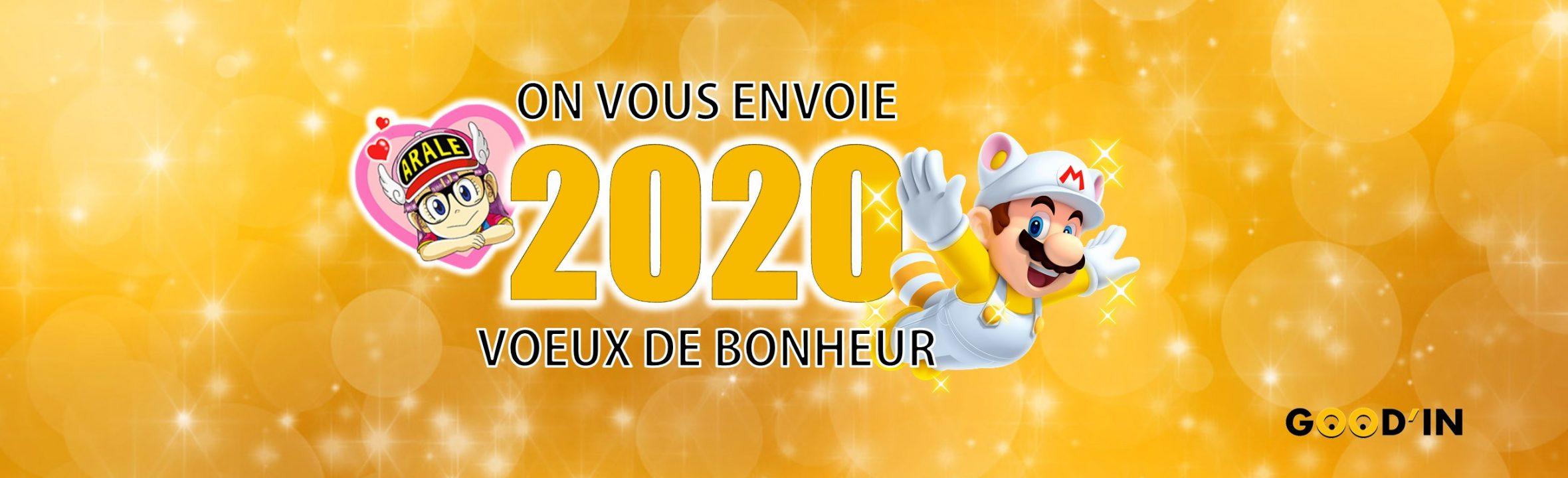 bonne année 2020 good'in