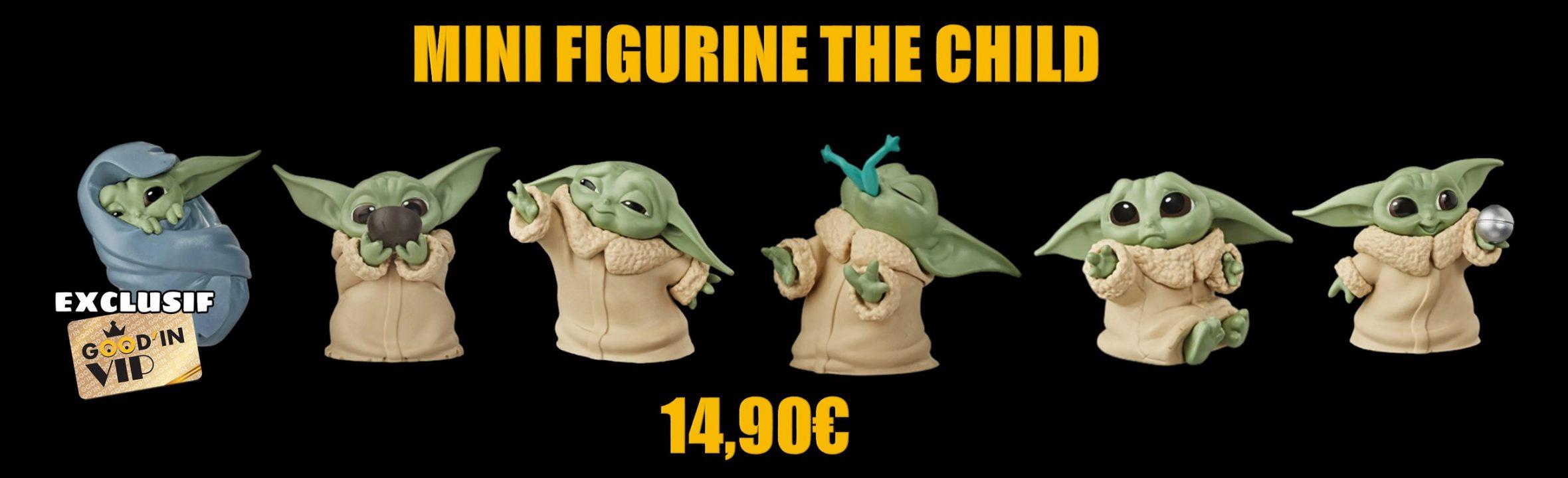 mini figurine Star wars the mandalorian The child baby yoda goodin shop