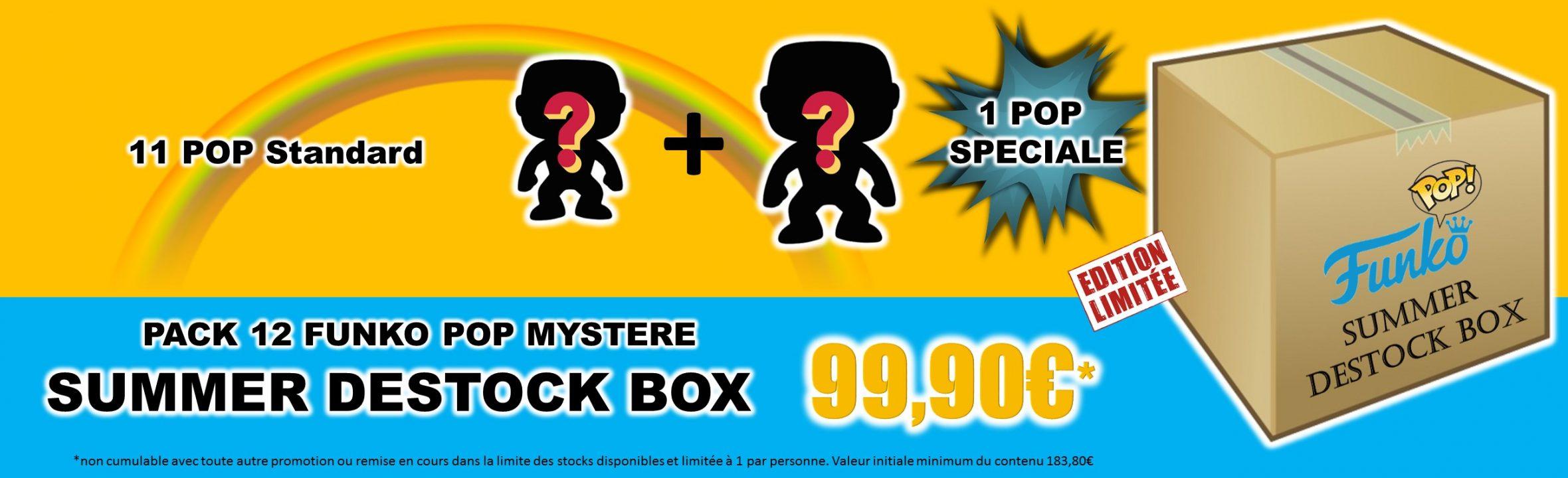 summer destock box 12 funko pop mystere goodin shop