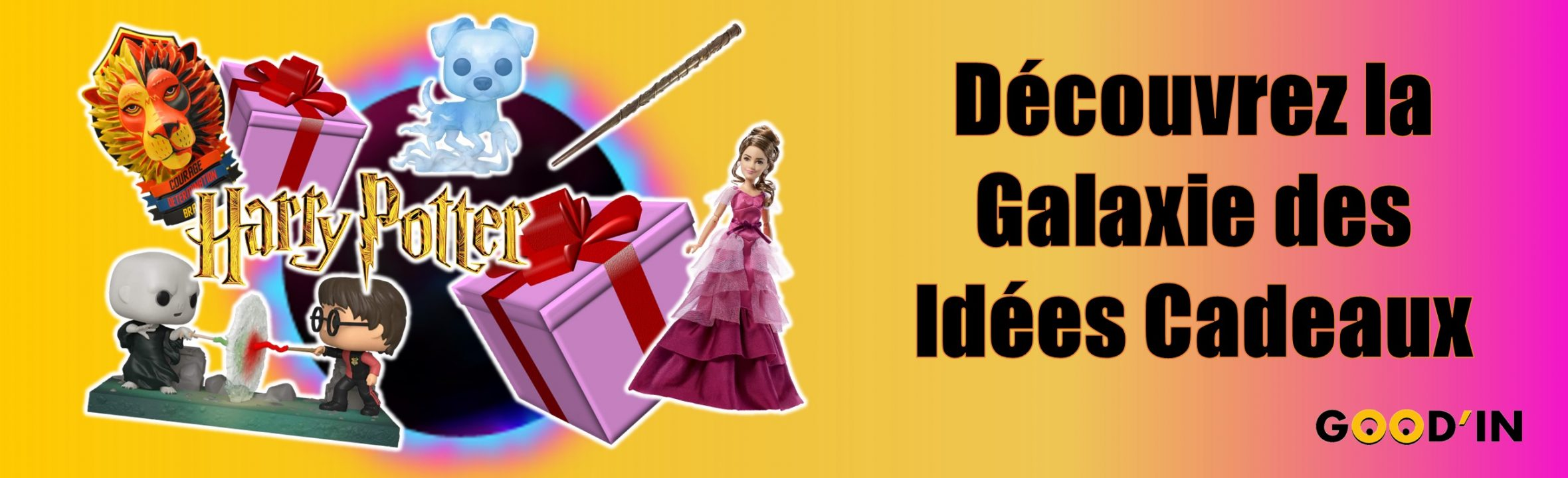 galaxie des idées cadeaux Harry Potter Goodin shop