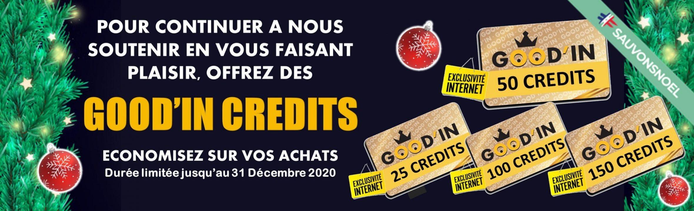 good'in crédits noel 2020 goodin shop sauvonsnoël
