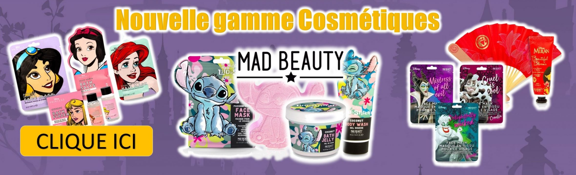 cosmétiques disney mad beauty goodin shop