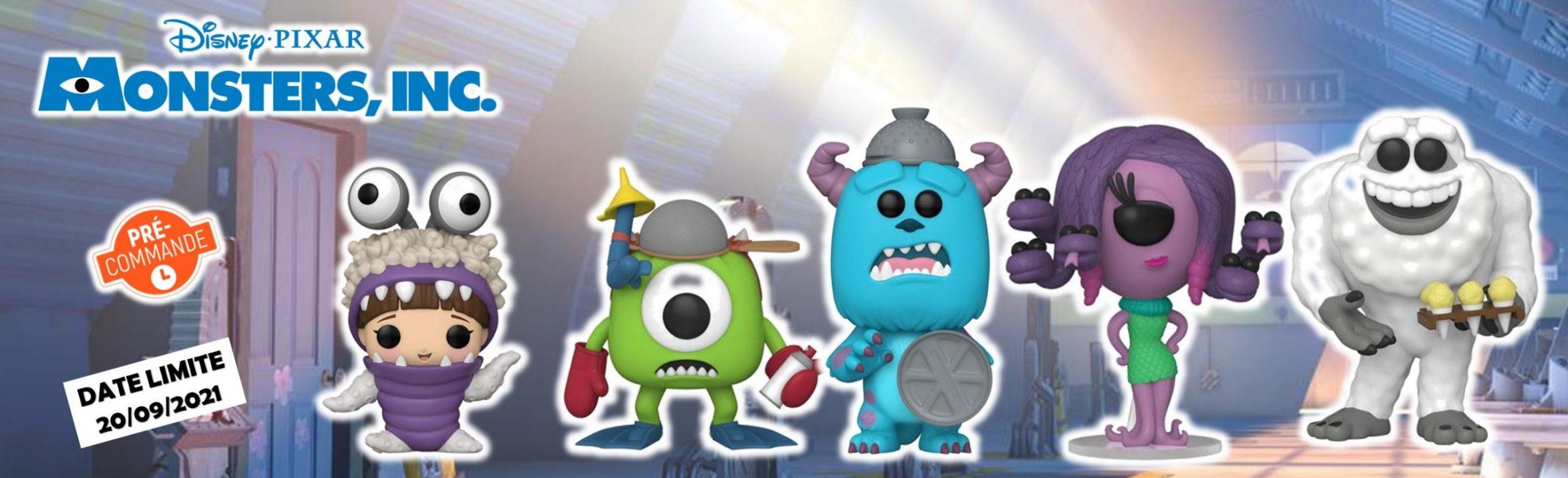 funko pop monstres et compagnie disney pixar goodin shop